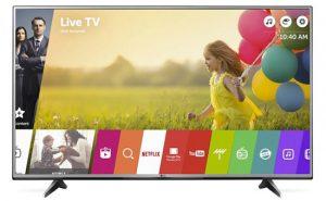 Một số mẫu TiVi LG 4K giá rẻ