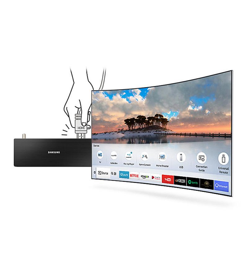 Khả năng tự động nhận diện trên Tivi Samsung UA49MU6500