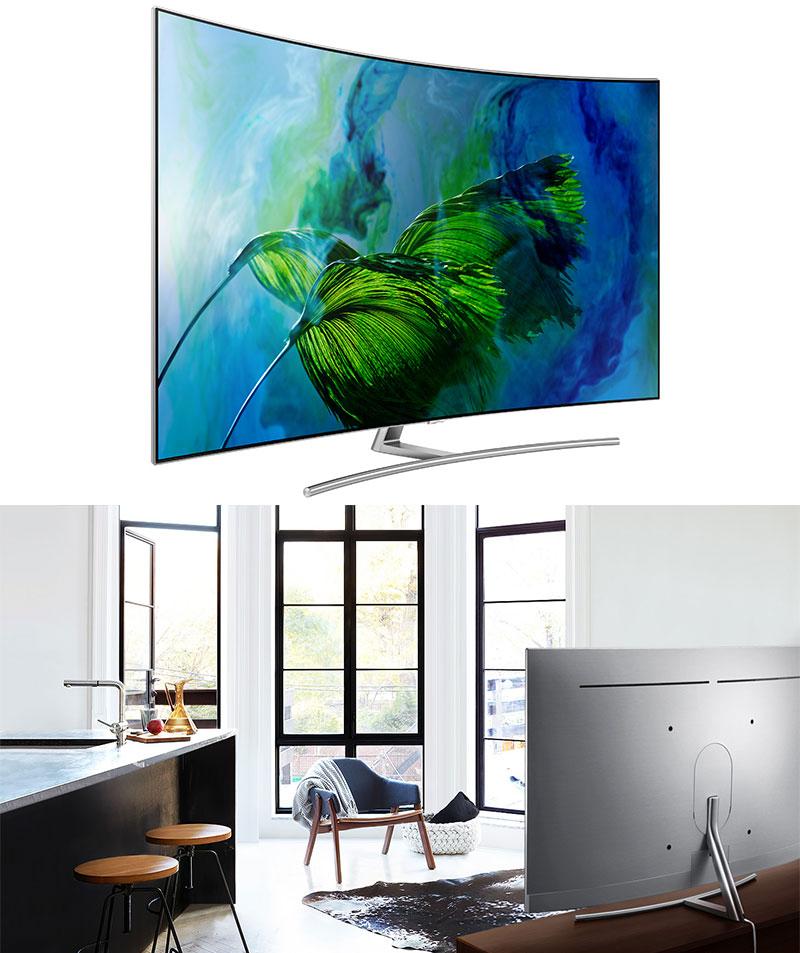 Thiết kế của Tivi Samsung QA65Q8C