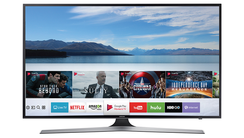 Tivi Samsung UA50MU6100 nổi bật ngay từ thiết k
