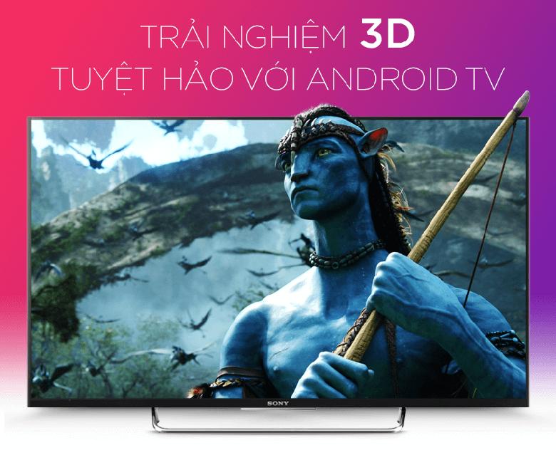 Tivi Sony KDL-43W800C Full HD mang tới hình ảnh sống động, tinh xảo