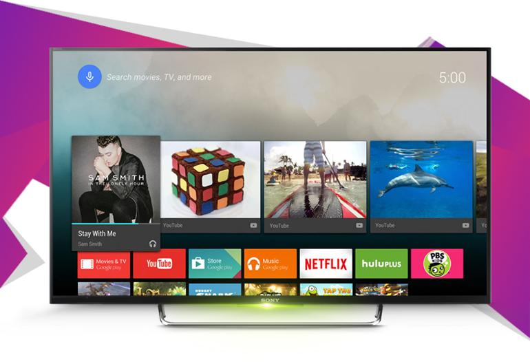 Tivi Sony KDL-43W800C được thiết kế siêu mỏng, hiện đại