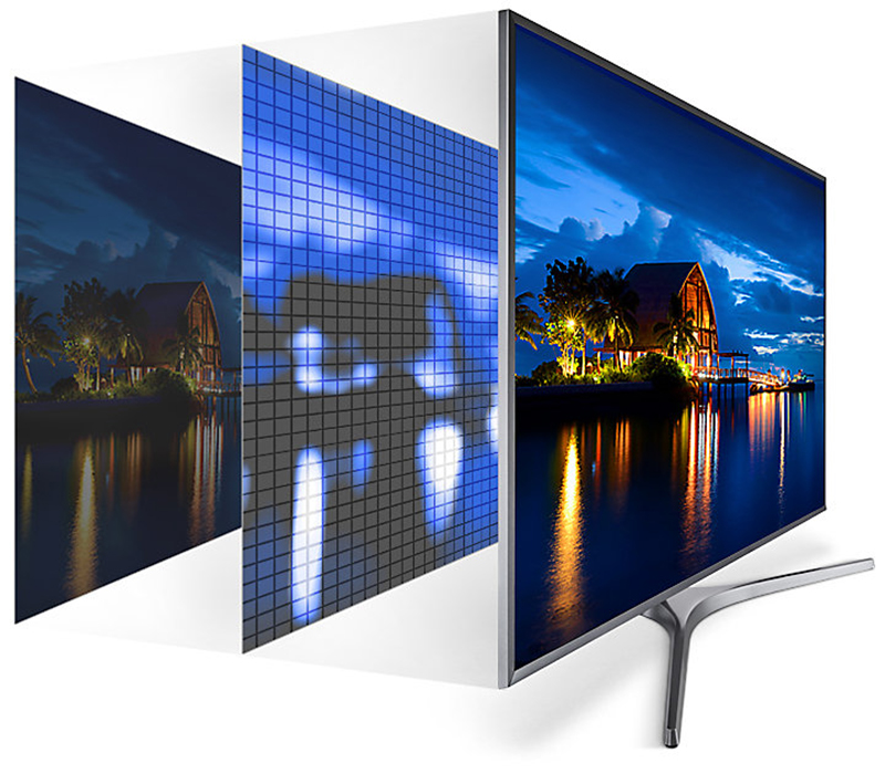 Công nghệ Ultra HD Dimming của Smart tivi 55MU6400