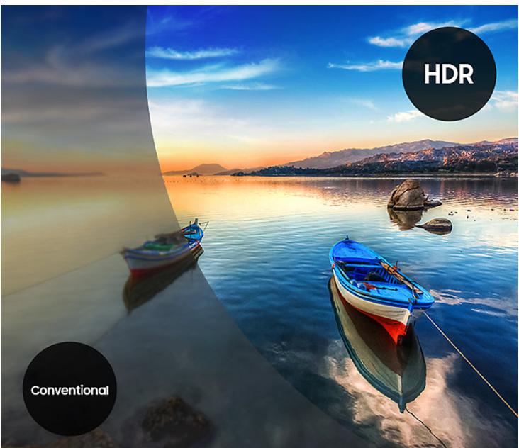 Trải nghiệm tivi Samsung UA40MU6100 với chất lượng HDR