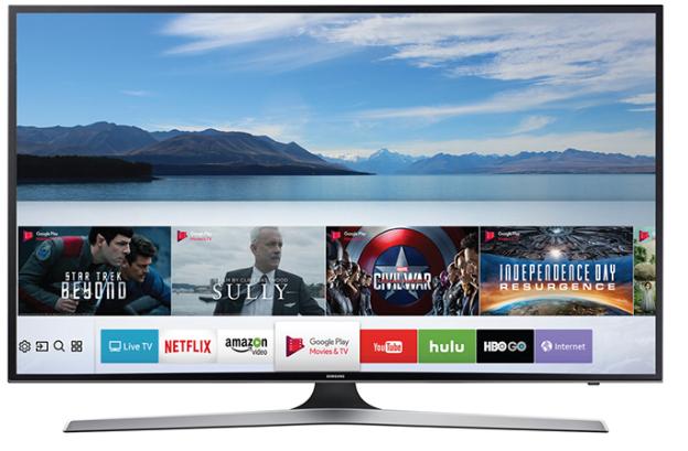 Smart Tivi Samsung 40 inch UA40MU6100 với thiết kế trang trong, tinh tế