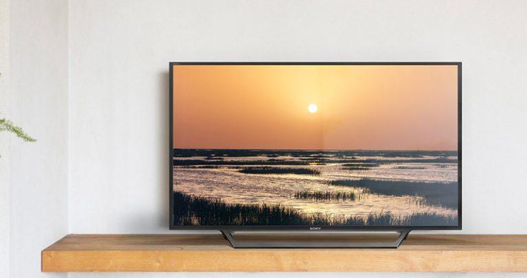 Tivi Sony 40W650D thiết kế hiện đại, cứng cáp, thích hợp với nhiều không gian