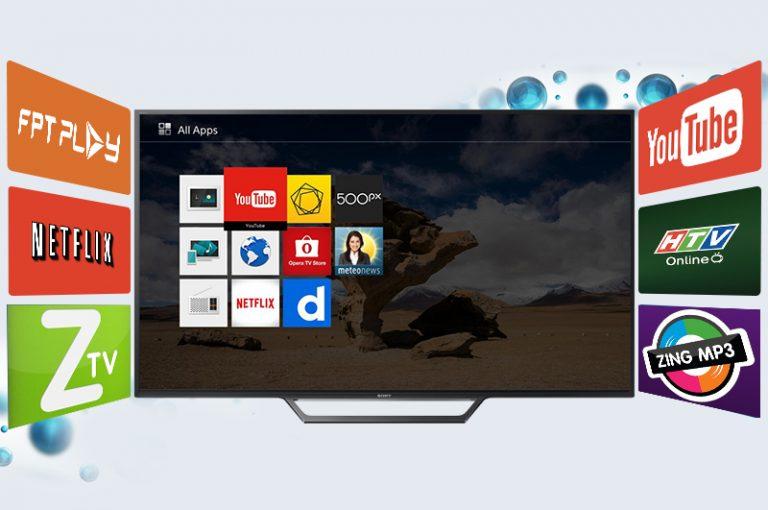 Tivi Sony 40W650 D đáp ứng nhu cầu giải trí phổ biến cho gia đình.