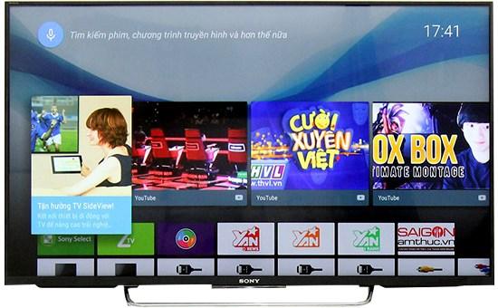 Công nghệ hiện đại ứng dụng trên Tivi 40 inch 43W800C