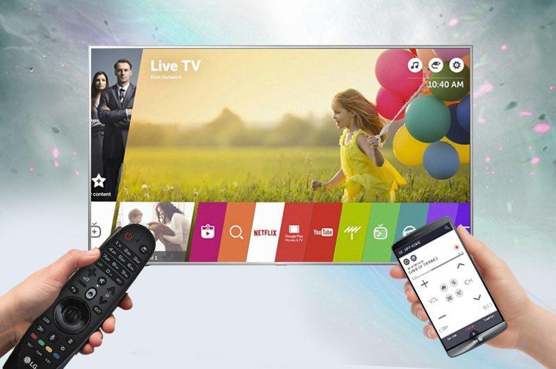 Chiếu màn hình điện thoại lên tivi LG 43LJ553T dễ dàng, nhanh chóng