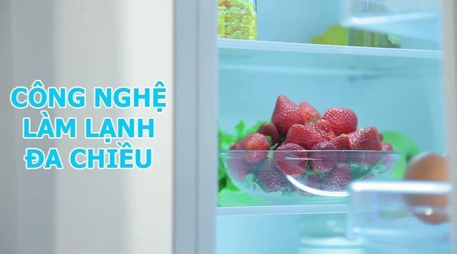 Khả năng làm lạnh đồng đều với tủ lạnh LG GR-D247JS