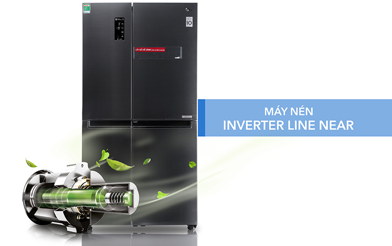 Tăng cường khả năng tiết kiệm điện nhờ hệ thống Linear Inveter.