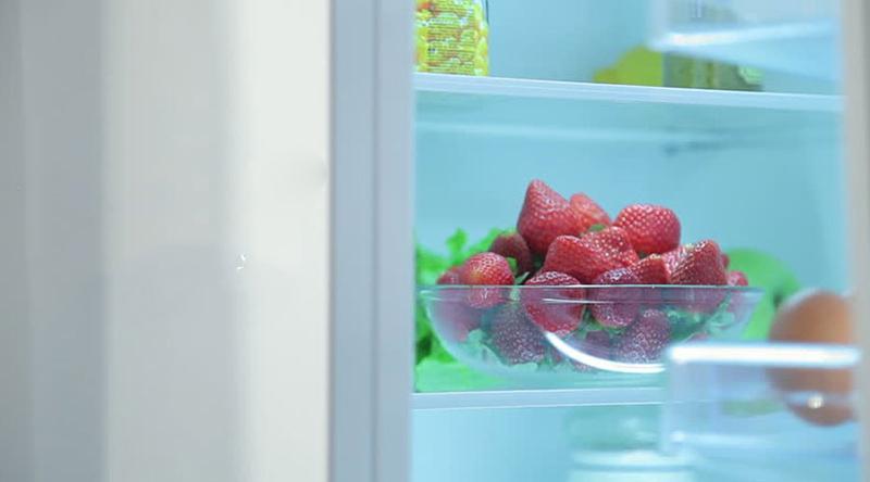 Làm lạnh nhanh hơn với hệ thống làm lạnh tiên tiến với tủ lạnh LG inverter GR-R247JS