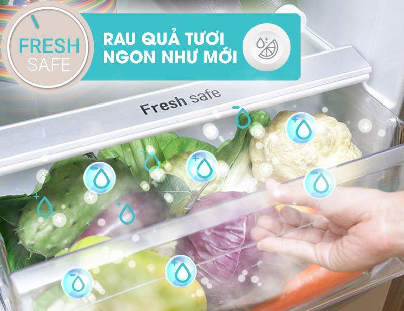 Ngăn bảo quản rau củ chuyên biệt với tủ lạnh Inverter NR-BD468VSVN