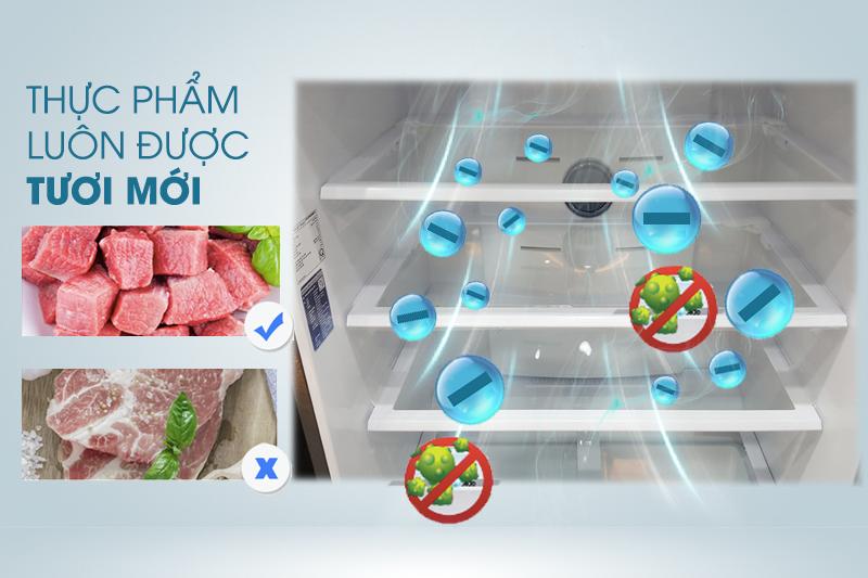 Kháng khuẩn, lọc mùi bằng than hoạt tính với tủ lạnh Samsung RT58K7100BS/SV