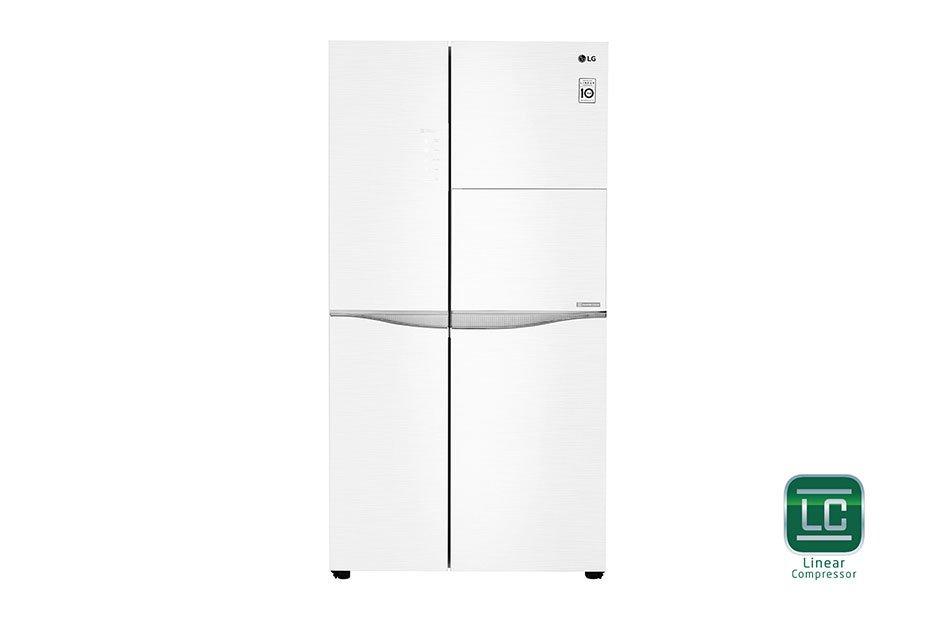 Tủ lạnh Side by Side LG GR-H247LGW 626 Lít - Thiết kế tinh tế, lịch lãm