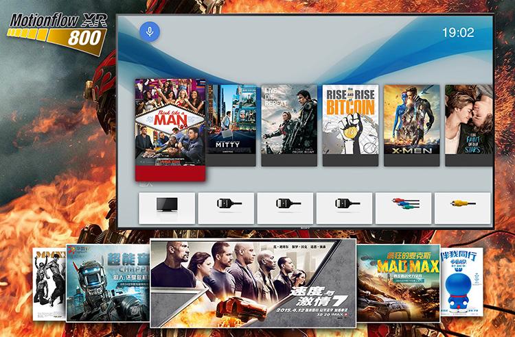 Xem phim hành động mượt mà và rõ nét ngay trên Smart tivi Sony 55X9000E/S