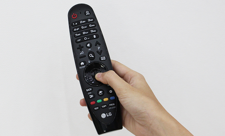 Sử dụng lăn chuột trên Smart Tivi LG