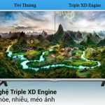 Hình ảnh sắc nét với công nghệ Triple XD Engine