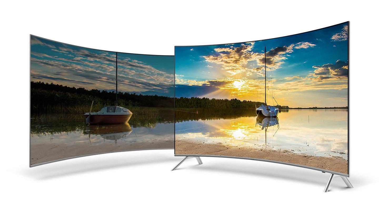Smart Tivi Samsung 55 inch 55MU8000 màn hình cong ấn tượng