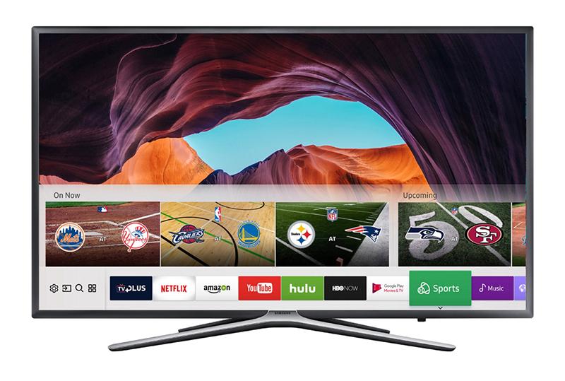 Smart Tivi Samsung UA49M5500 được thiết kế sang trọng với phần chân đế chắc chắn