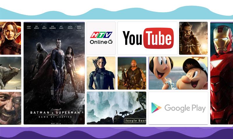 Lướt web, lên mạng xã hội, xem phim,… ngay trên tivi 55X9000C