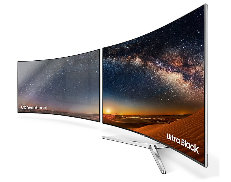 Công nghệ Ultra Black mang đến những hình ảnh chân thực tự nhiên của tivi Samsung 55MU9000