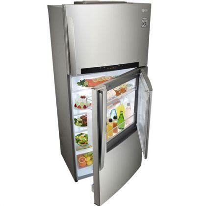 Thiết kế mới lạ, cao cấp và đầy tiện dụng với tủ lạnh LG 507 lít GR - L702 SD