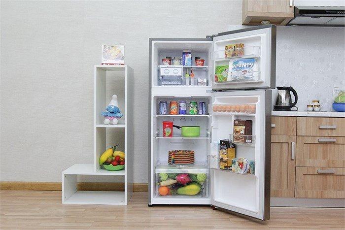 Thiết kế nội thất rộng rãi với tủ lạnh Inverter LG GN-L205PS