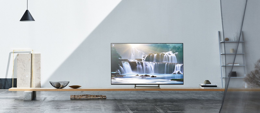 Smart Tivi Sony 65 inch 65X9300E sở hữu thiết kế hiện đại, tinh tế