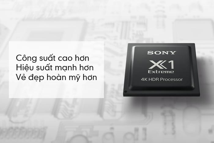 Công nghệ 4K HDR Processor X1™ trên Sony 65X9300E Extreme cho những cảm nhận trung thực