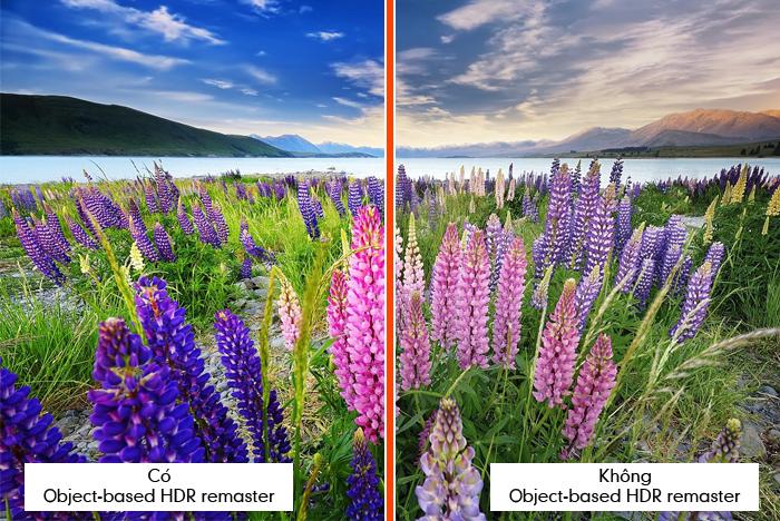 Công nghệ Object-based HDR remaster trên Smart Tivi Sony 65 inch 65X9300E