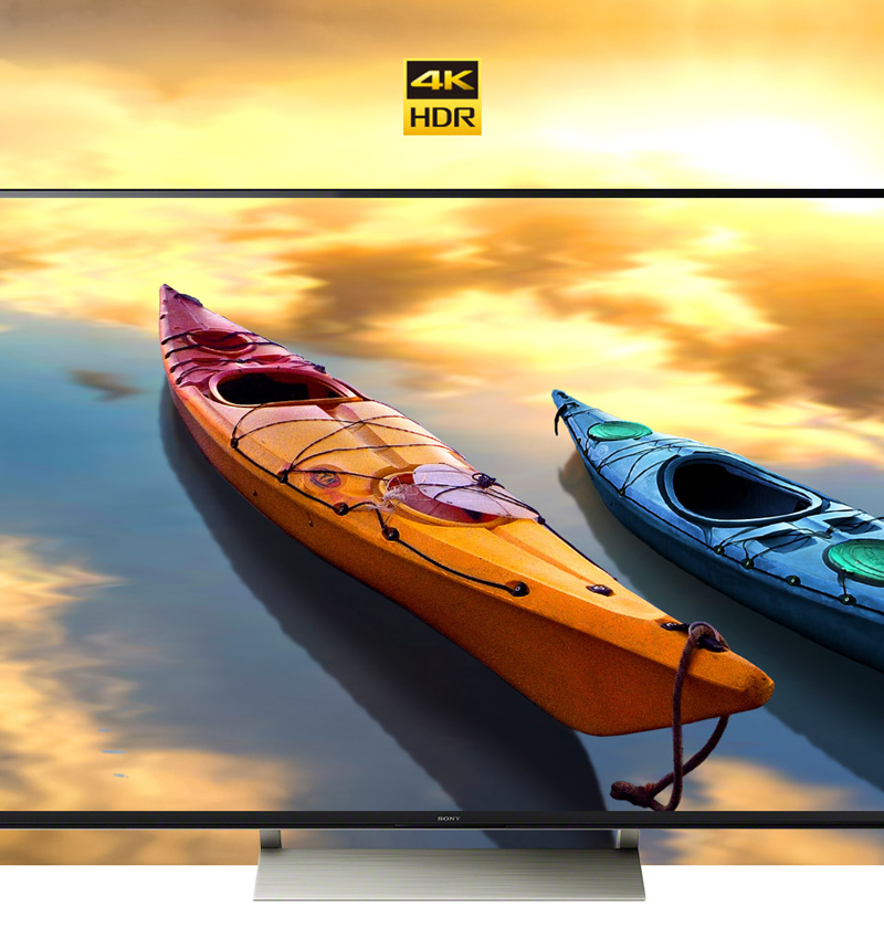 Dải tần nhạy sáng cao 4K trên Tivi Sony 55X9000E/S