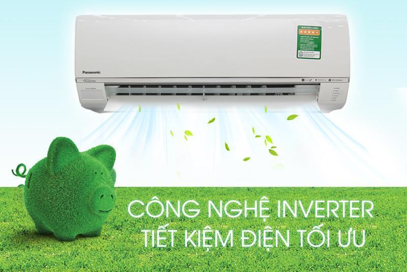 Công nghệ Inverter hiện đại, tiết kiệm