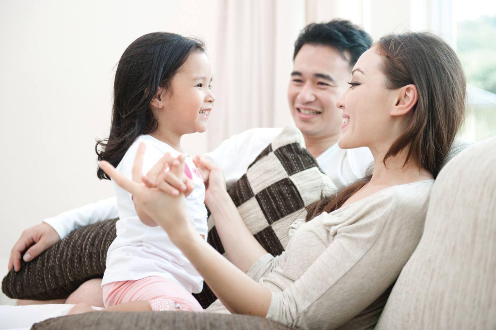 Luồng gió đồng đều mang đến giây phút thư giãn thoải mái cho cả gia đình