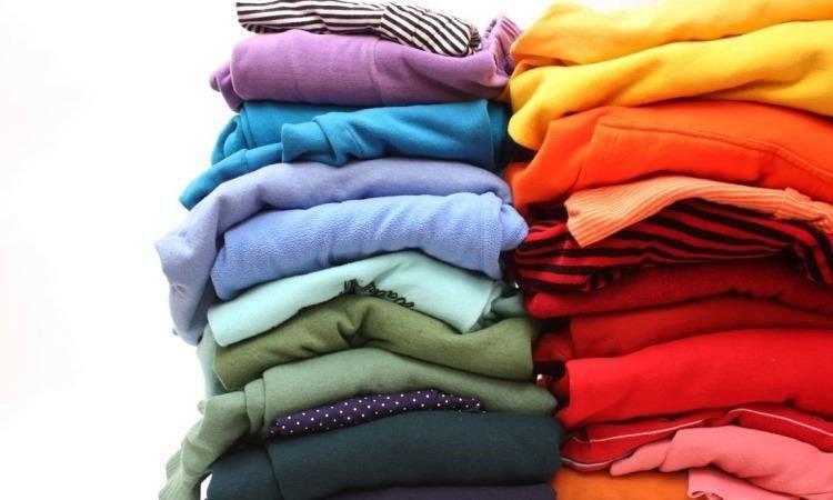 Quần áo phẳng phiu sau khi sấy khô với máy sấy EDA7552S
