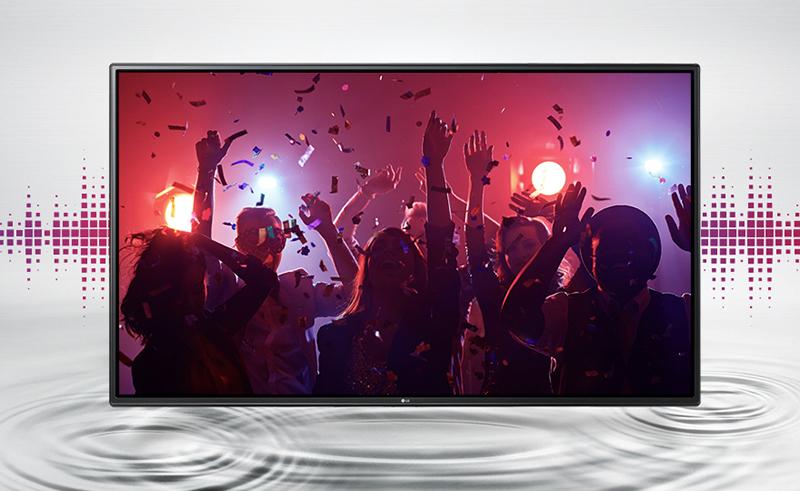 Hệ thống âm thanh sống động chân thực với smart tivi UJ632T