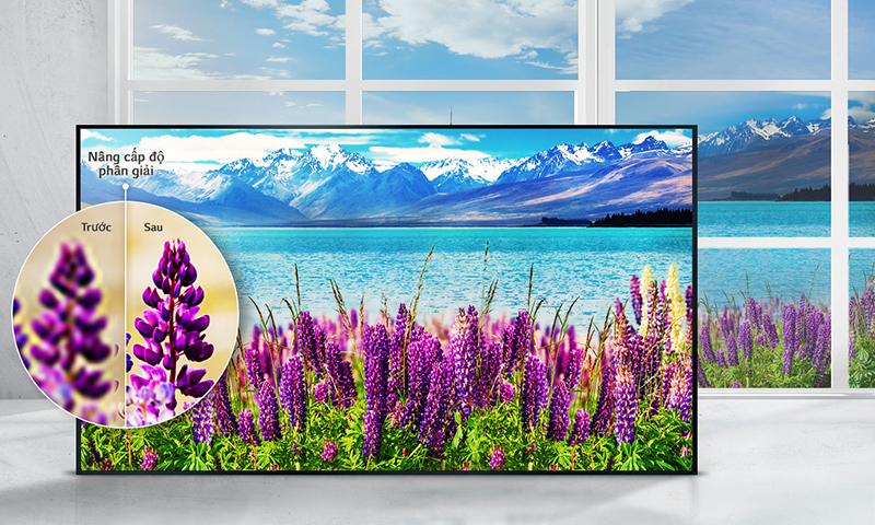 Công nghệ tăng cường ánh sáng với tivi 65 inch 65UJ750T