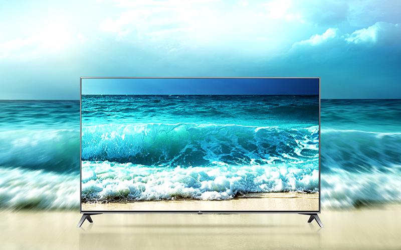 Nâng cấp chất lượng hình ảnh độc đáo trên tivi LG 65UJ750T