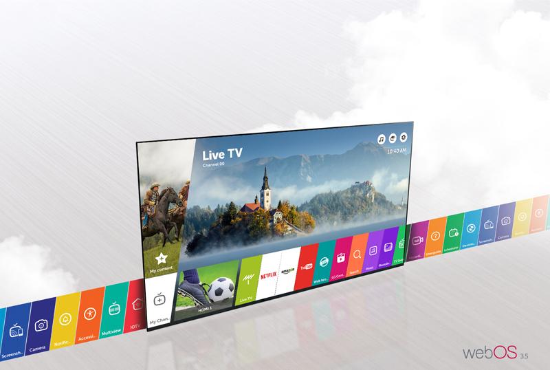 Smart Tivi LG 55UJ652T sở hữu hệ điều hành WebOS 3.5 thông minh cùng nhiều tính năng hấp dẫn