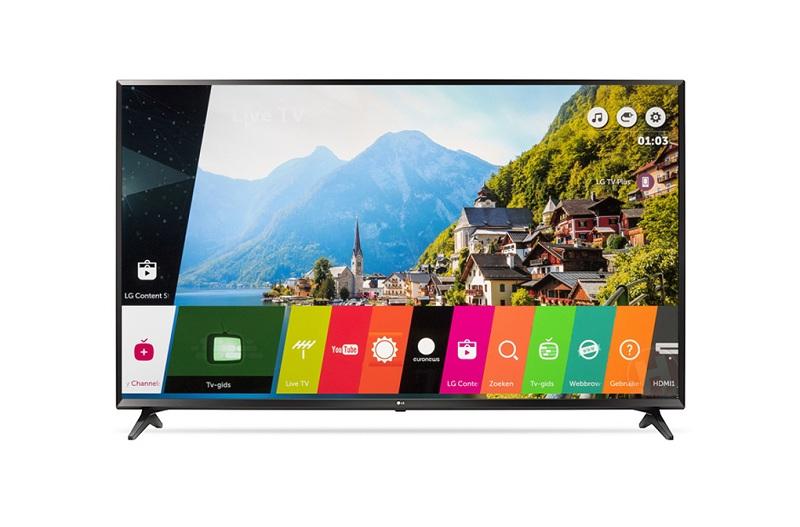 Smart Tivi LG 49UJ632T có hệ điều hành WebOS 3.5 với giao diện đẹp mắt và thông minh