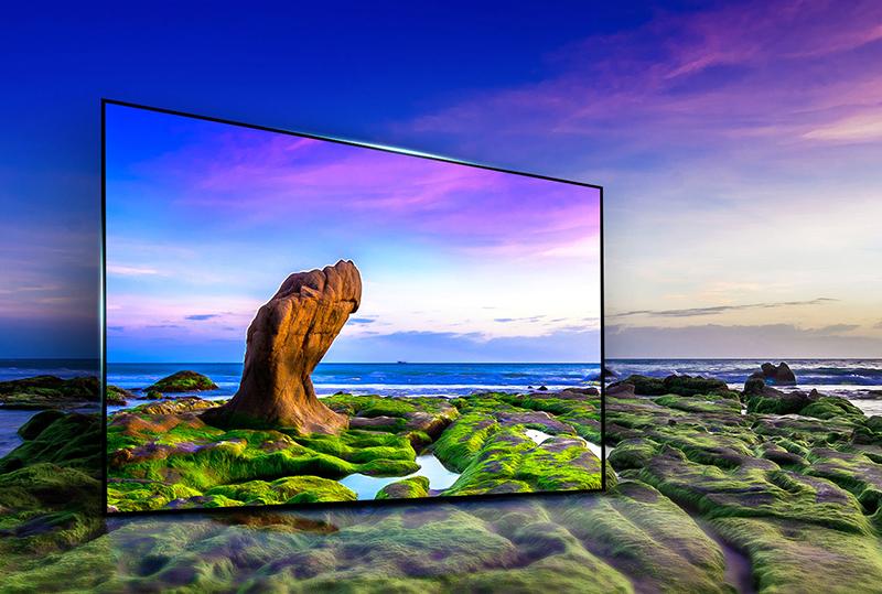 Tivi LG 55UJ750 được trang bị tấm nền IPS – mở rộng góc nhìn