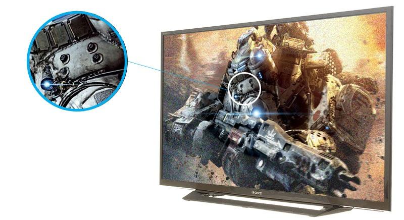 Công nghệ X-Reality PRO trên tivi 32 inch (nguồn ảnh: internet)