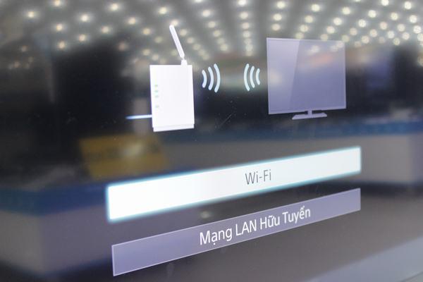 Chọn hình thức kết nối Wi- Fi