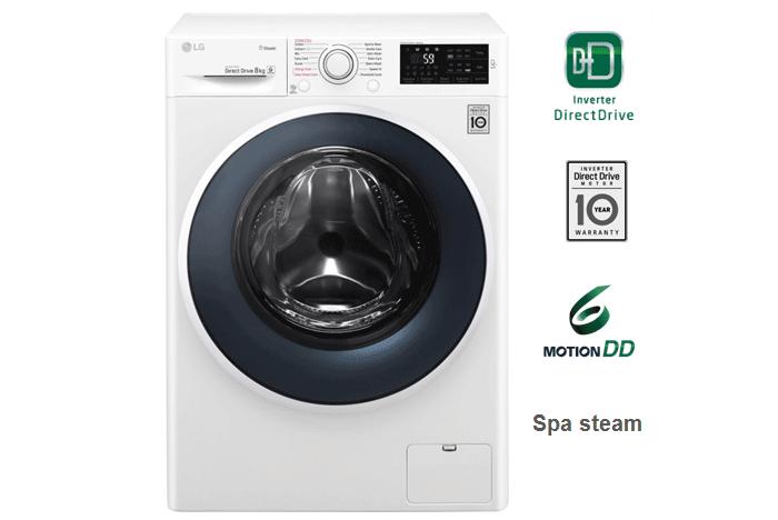Chiếc máy giặt nhỏ gọn cho gia đình bạn với máy giặt LG 8.0 Kg FC1408S4W1