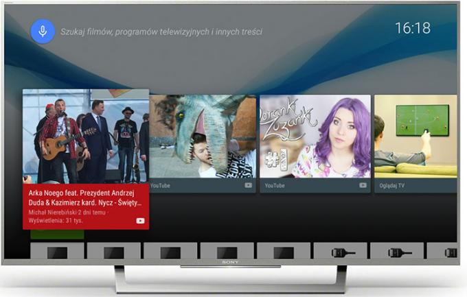 Thiết kế hiện đại, tinh tế với tivi Sony 55X8000E/S