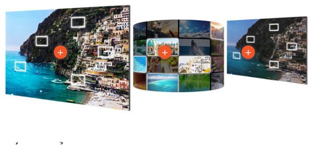 Chất lượng hình ảnh hoàn hảo với Tivi Sony 55X8000E