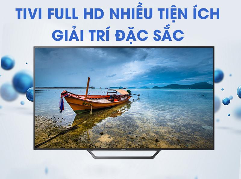 Internet Tivi Sony 40 inch KDL0-40W650D (nguồn ảnh: internet)