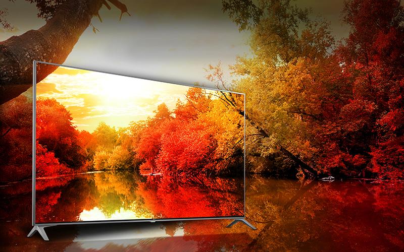 Dải màu đa dạng cung cấp hình ảnh chân thực với Tivi LG 65SJ800