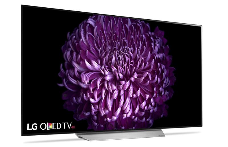 Smart Tivi OLED LG 55 inch 55C7T được thiết kế thanh mảnh, đường nét tinh tế