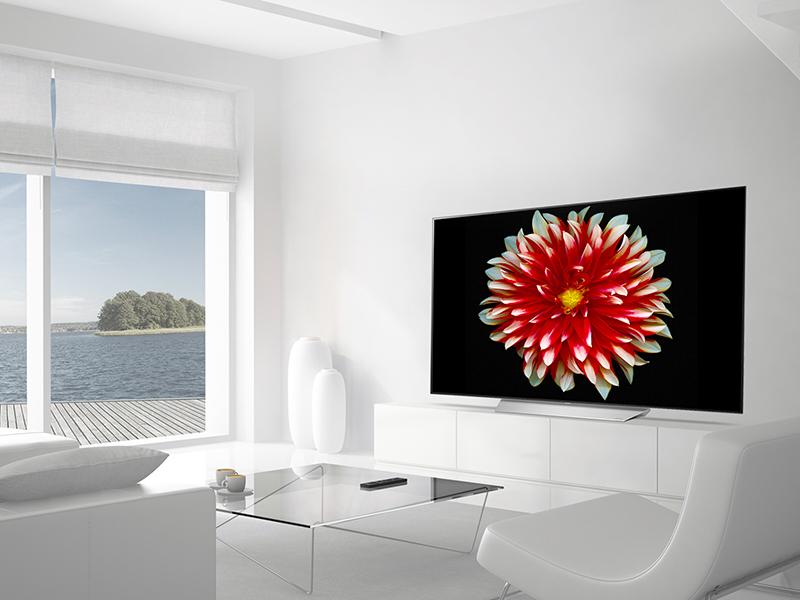 Thưởng thức chất lượng hình ảnh sống động như cuộc sống thực trên Tivi LG 55 inch 55C7T